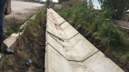 новите канавки в село Шишманци